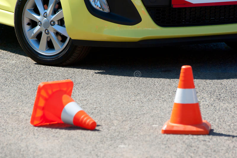 Download Test drive the car stock photo. Image of race, obstacle - 31638408