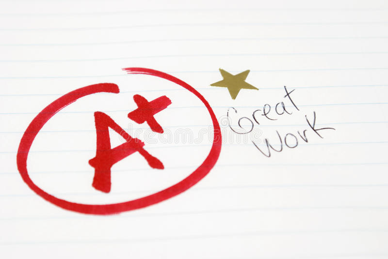 Test Grade stock images