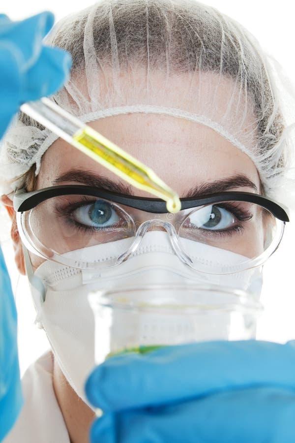 Test médical photo stock