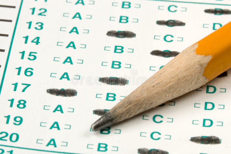 Download Test Quiz stock photo. Image of questionnaire, intelligent - 6126800