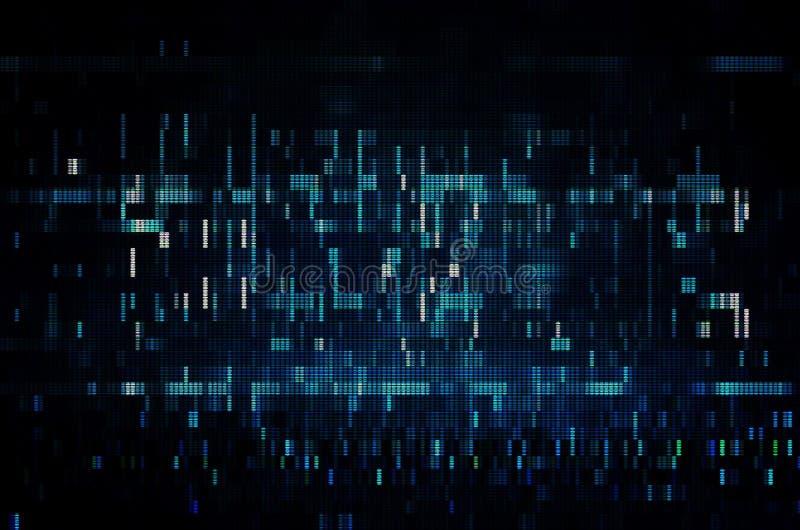 Test Screen Glitch Texture. stock photo