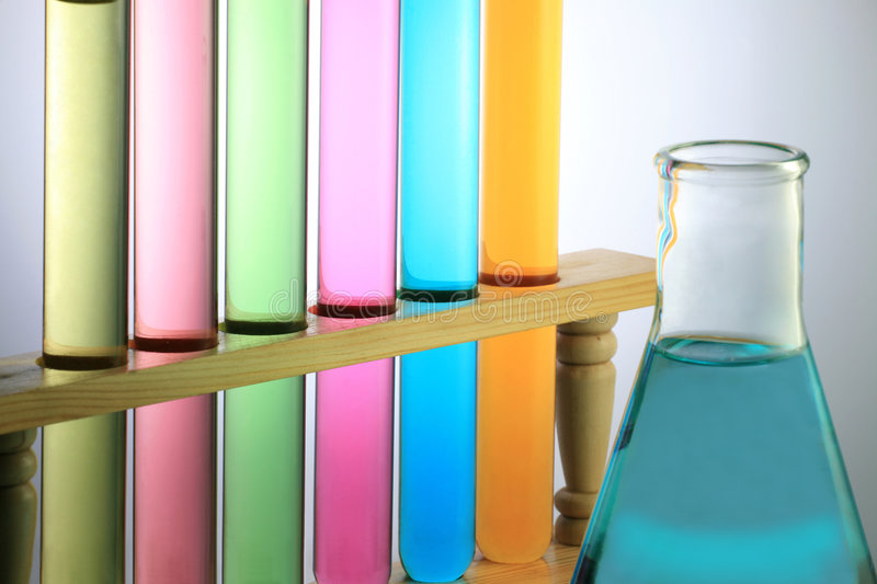 Download Test Tube With Flask stock photo. Image of life, science - 6793948