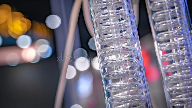 Test Tube In Science Laboratory royalty free stock photos