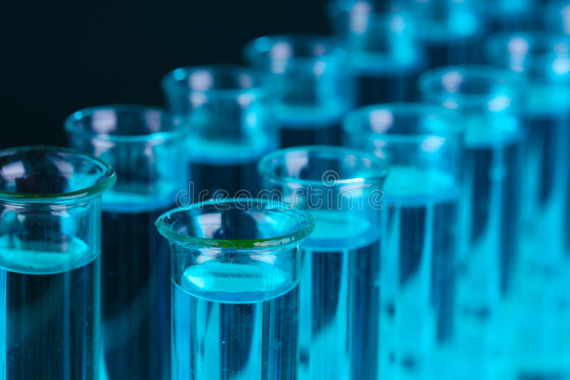 Test-tubes Stock Images