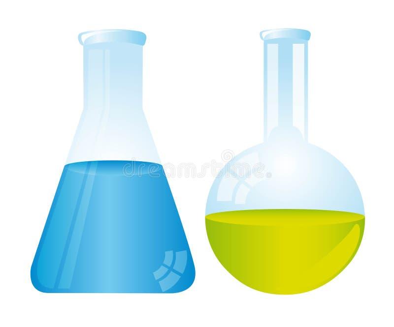 Download Test tubes stock vector. Illustration of experiment, drug - 22742717