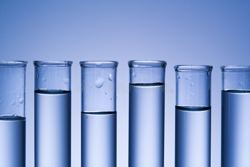 Test tubes. stock photos