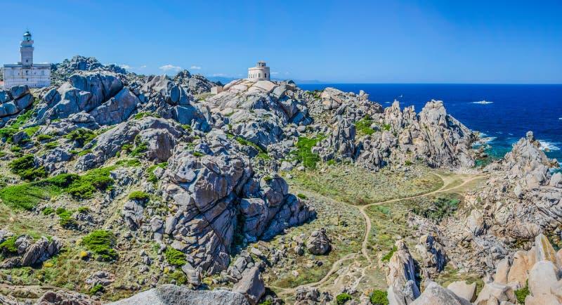 Testa de capo près de Santa di Gallura, Sardaigne, Italie photos stock