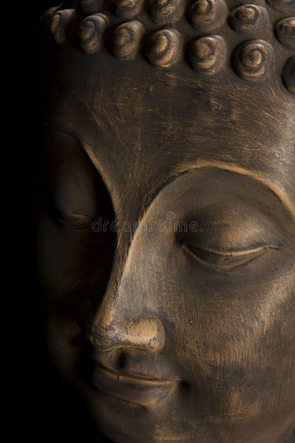 Testa del Buddha fotografie stock libere da diritti