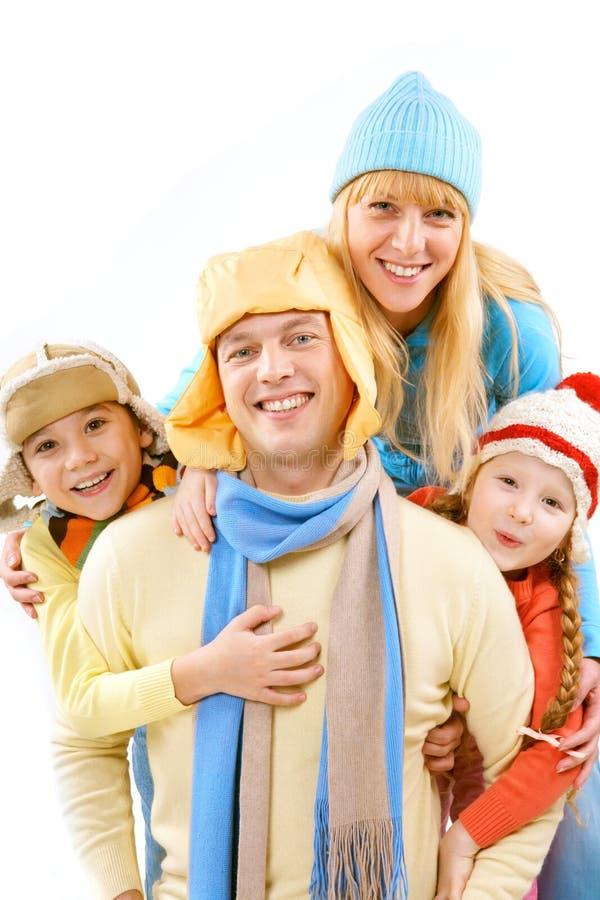 Testa della famiglia immagini stock