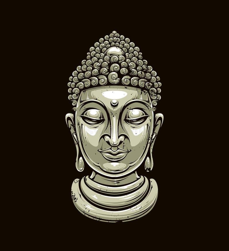 Exceptionnel Testa di Buddha di vettore illustrazione vettoriale. Immagine di  GQ48