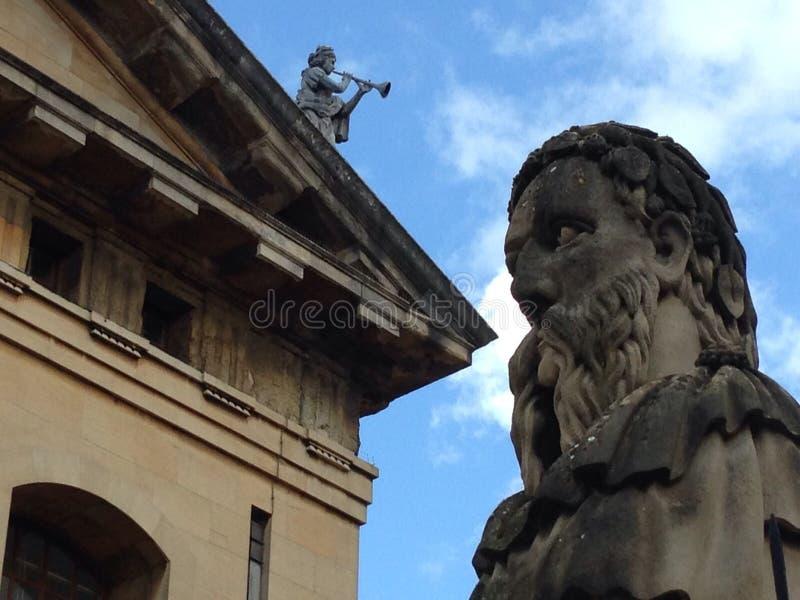 Testa di Oxford fotografia stock libera da diritti