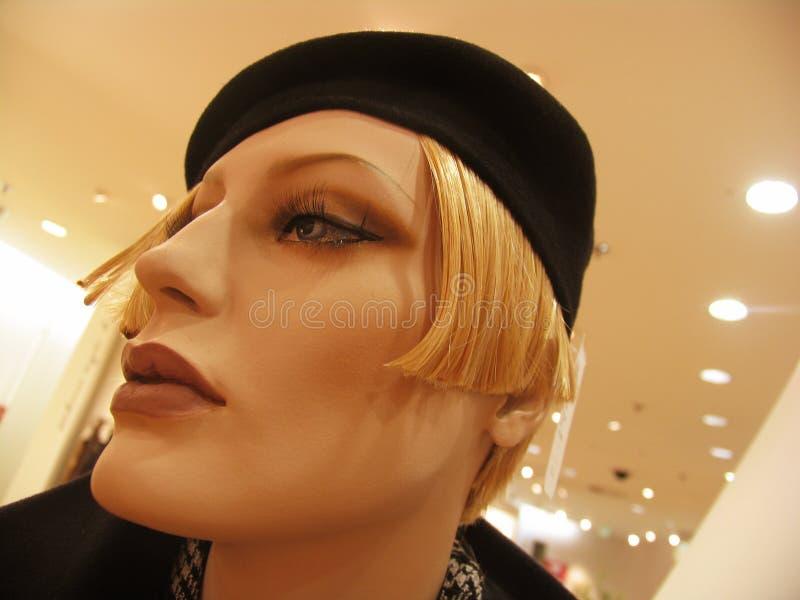 Testa femminile del mannequin