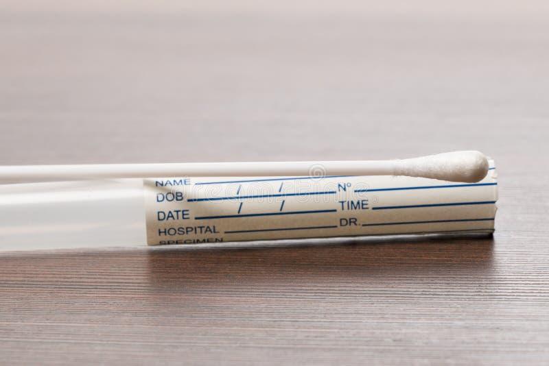 Teste do ADN, teste da limpeza fotografia de stock