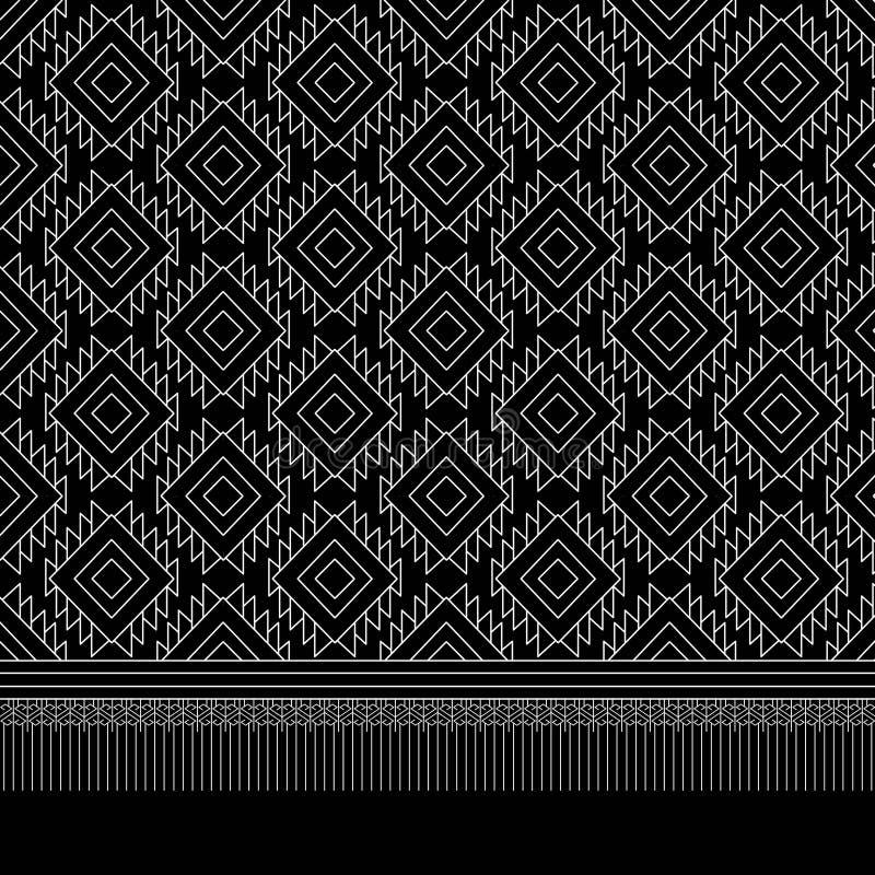 Download Teste Padrão étnico Geométrico Ilustração Stock - Ilustração de fundo, arquitetura: 65581265