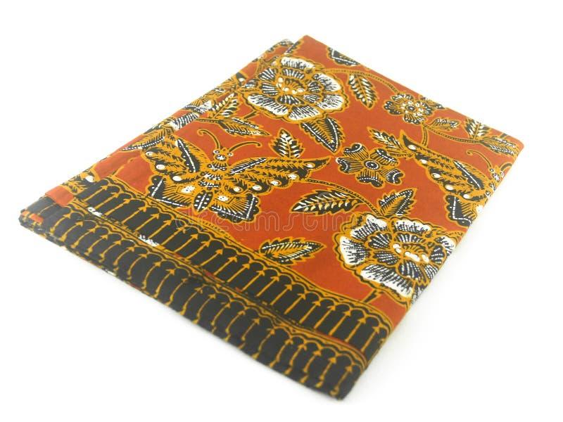 Teste padrão étnico tradicional do Batik de Indonésia de Java Javanese imagens de stock royalty free