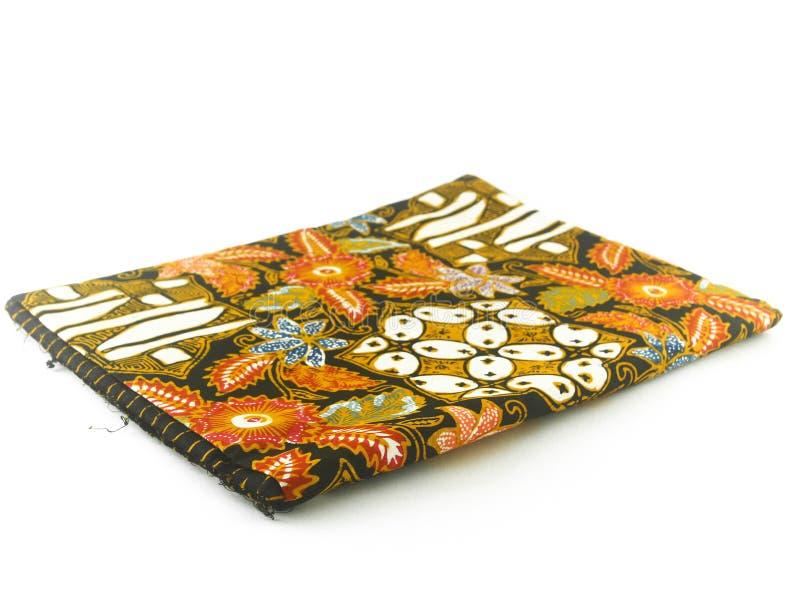 Teste padrão étnico tradicional do Batik de Indonésia de Java Javanese fotos de stock royalty free