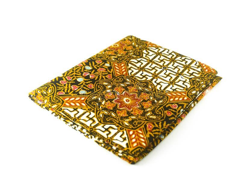 Teste padrão étnico tradicional do Batik de Indonésia de Java Javanese fotografia de stock royalty free