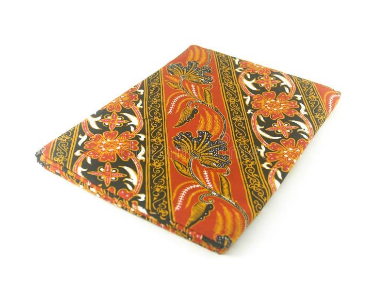 Teste padrão étnico tradicional do Batik de Indonésia de Java Javanese fotografia de stock