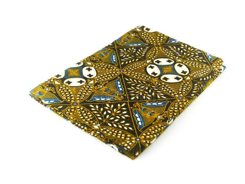 Teste padrão étnico tradicional do Batik de Indonésia de Java Javanese imagens de stock