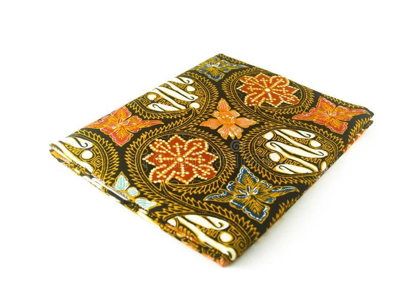 Teste padrão étnico tradicional do Batik de Indonésia de Java Javanese foto de stock royalty free