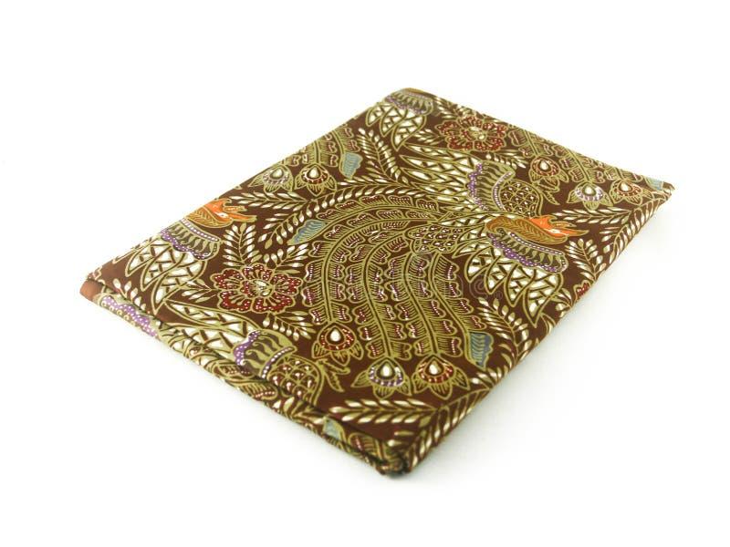 Teste padrão étnico tradicional do Batik de Indonésia de Java Javanese foto de stock