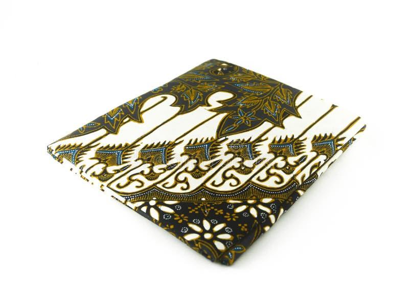 Teste padrão étnico tradicional do Batik de Indonésia de Java Javanese imagem de stock