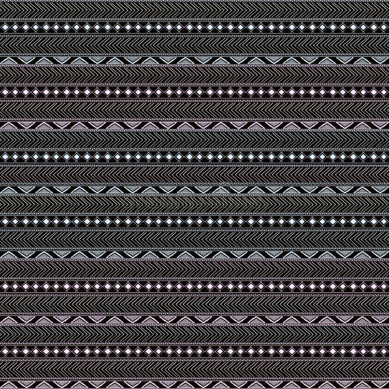 Teste padrão étnico tribal ilustração royalty free
