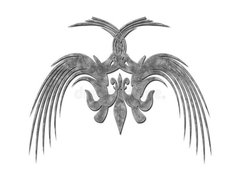Teste padrão ilustração do vetor