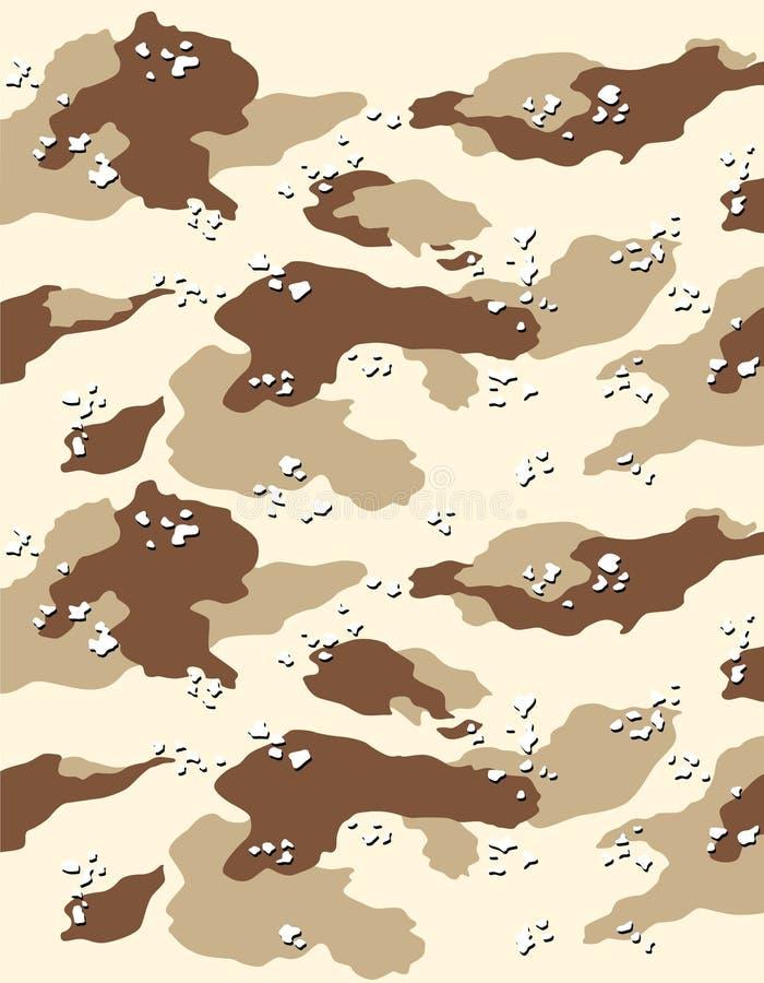 Teste padrão 3 do vetor camuflar ilustração royalty free