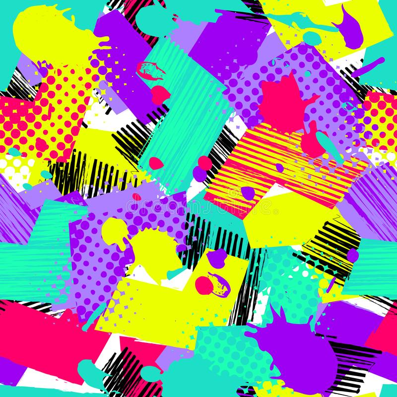 Teste padrão abstrato imagens de stock