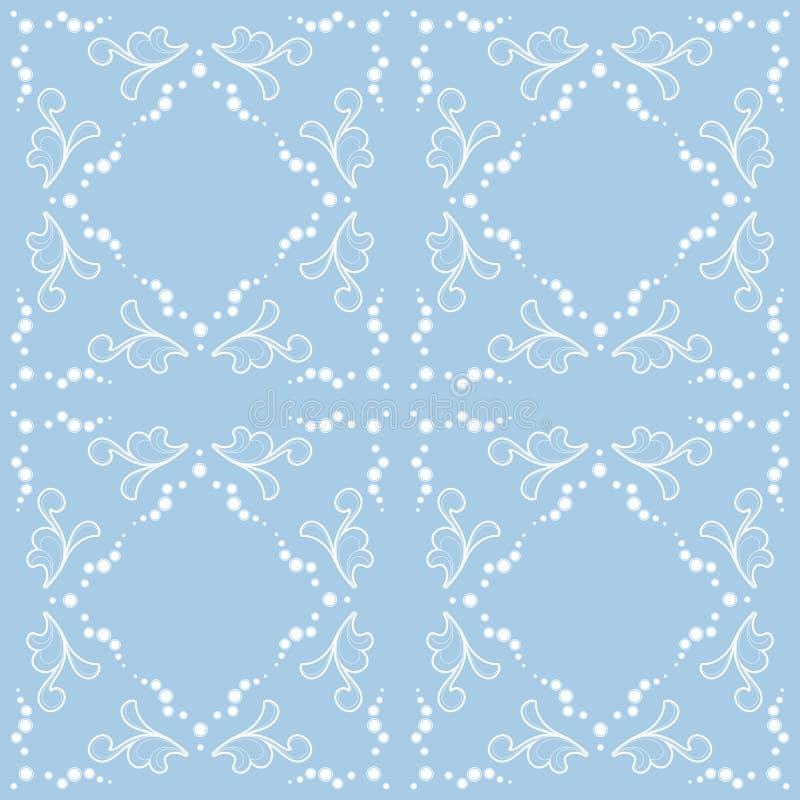 Teste padrão abstrato ilustração do vetor