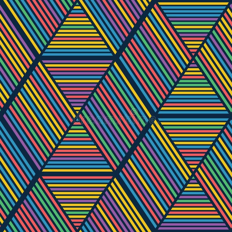 Teste padrão abstrato ilustração stock