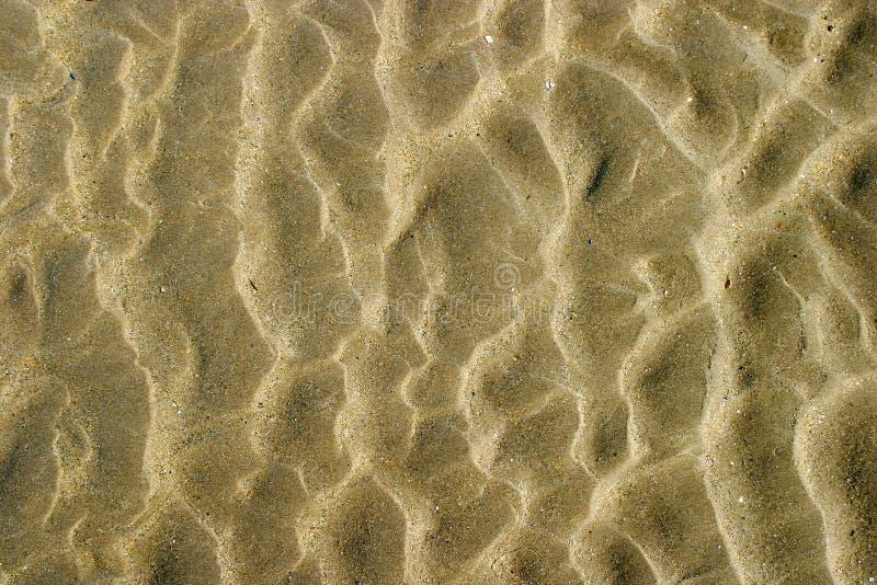 Teste padrão abstrato da areia foto de stock royalty free