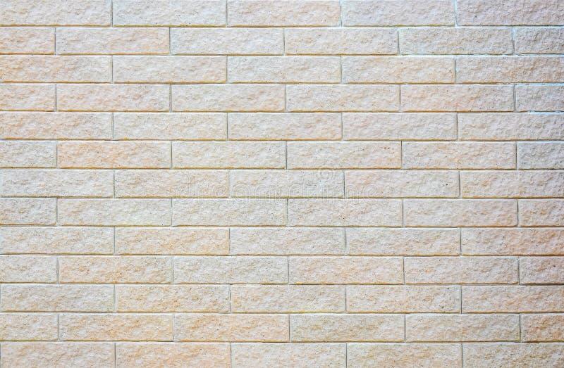 Teste padrão abstrato da elegância da textura padrão moderna da parede do bloco do tijolo para o fundo e o papel de parede fotografia de stock royalty free