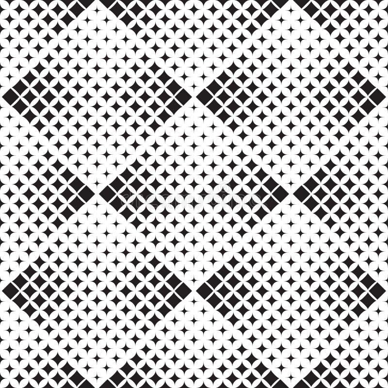 Teste padrão abstrato de formas geométricas ilustração stock