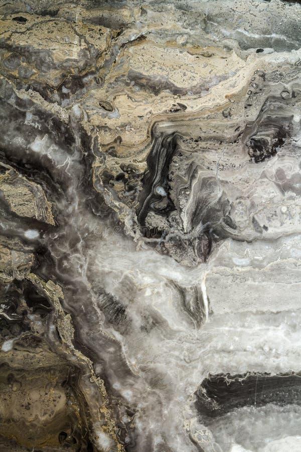 Teste padrão abstrato de mármore preto do fundo com alta resolução Fundo do vintage ou do grunge da textura velha de pedra natura imagem de stock