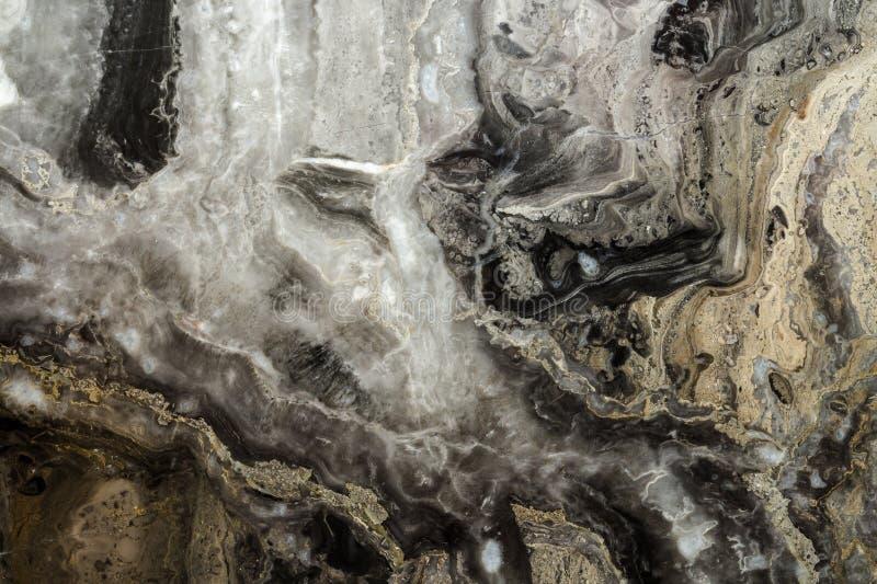 Teste padrão abstrato de mármore preto do fundo com alta resolução Fundo do vintage ou do grunge da textura velha de pedra natura fotos de stock royalty free