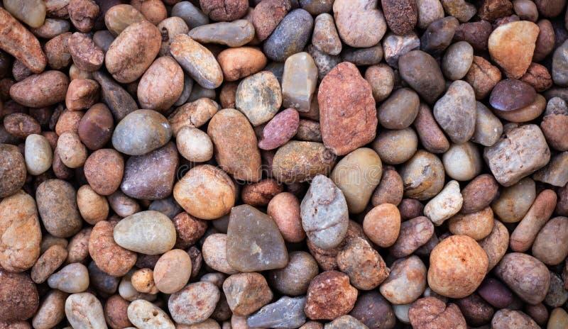 Teste padrão abstrato decorativo de uma pedra do cascalho foto de stock royalty free