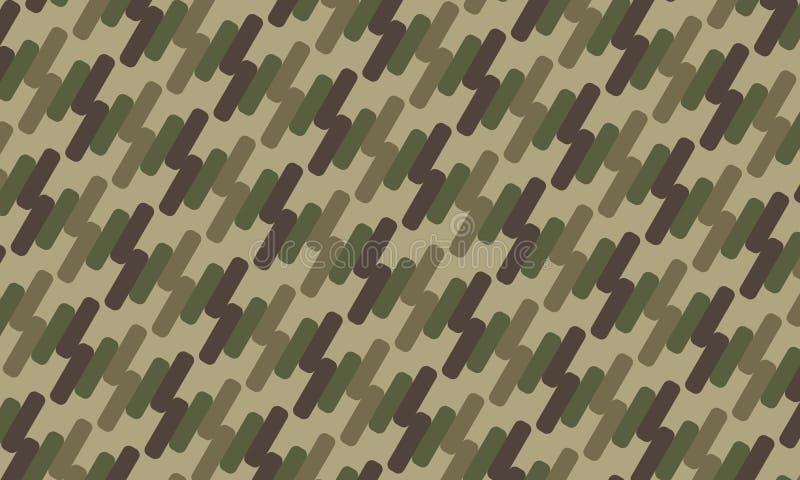 Teste padrão abstrato do fundo da camuflagem militar ilustra??o do vetor do projeto ilustração do vetor
