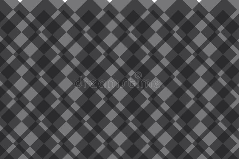 Teste padrão abstrato do fundo feito com os quadrados transparentes que sobrepõem-se ilustração do vetor