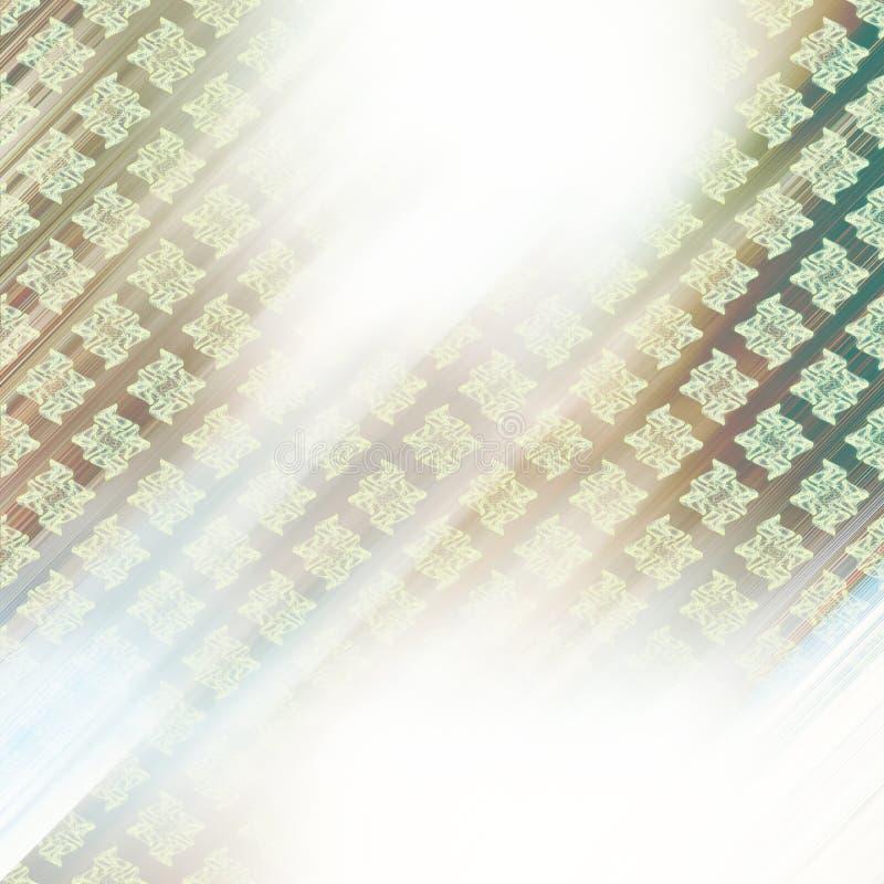 Teste padrão abstrato do fundo do ornamento imagem de stock royalty free