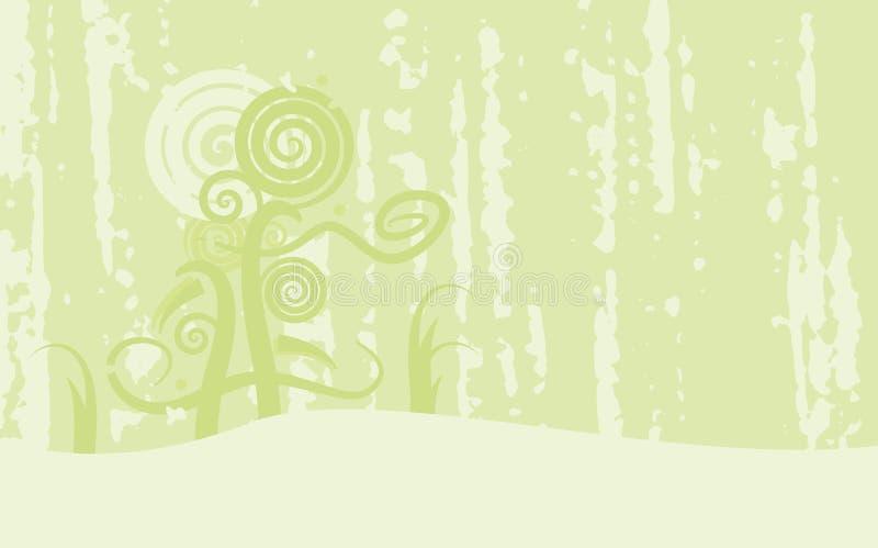 Teste padrão abstrato do grunge ilustração royalty free