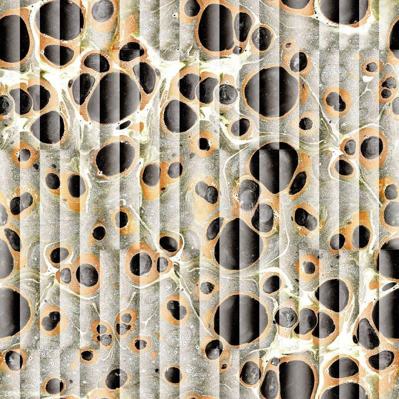 Teste padrão abstrato do paneling - fundo sem emenda - papel de óleo imagens de stock