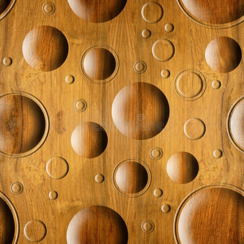 Teste padrão abstrato do paneling - fundo sem emenda - textura de madeira imagens de stock