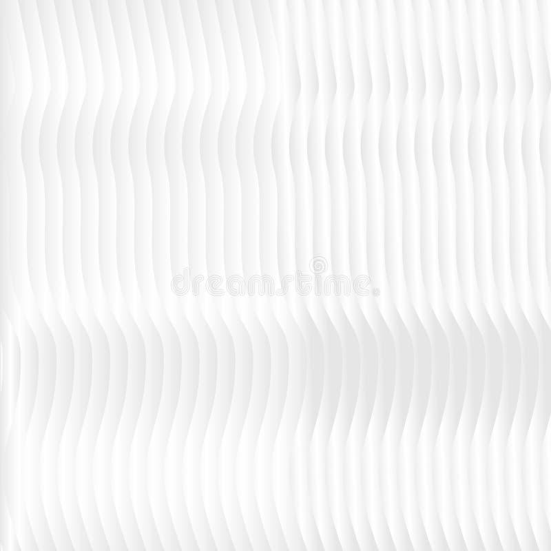 Teste padrão abstrato do projeto preto e branco das listras do inclinação, o ondulado e o monocromático Vector a ilustração, EPS1 ilustração stock