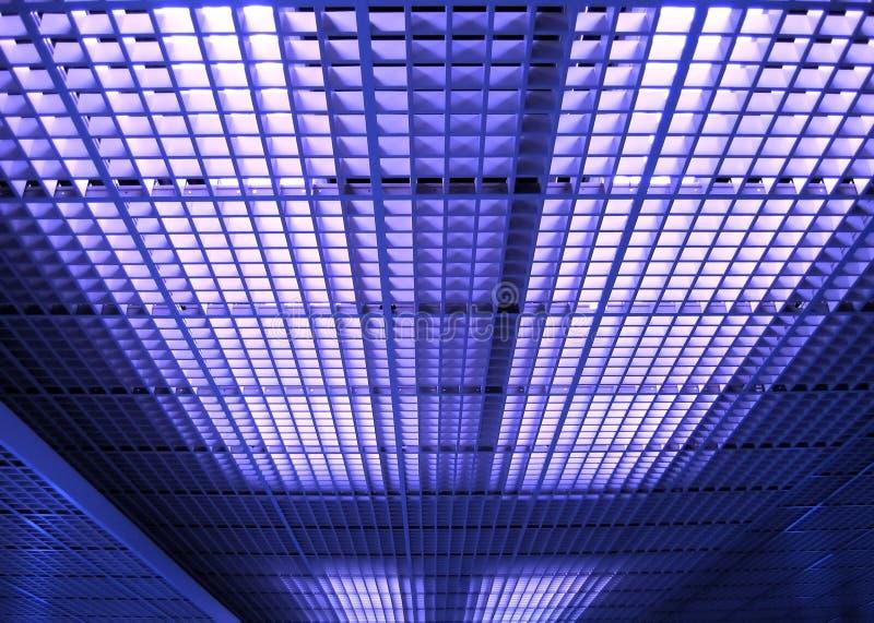 Teste padrão abstrato do teto fotografia de stock