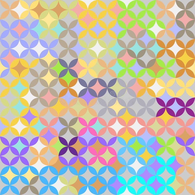 Teste padrão abstrato, fundo do vetor, elementos decorativos ilustração do vetor