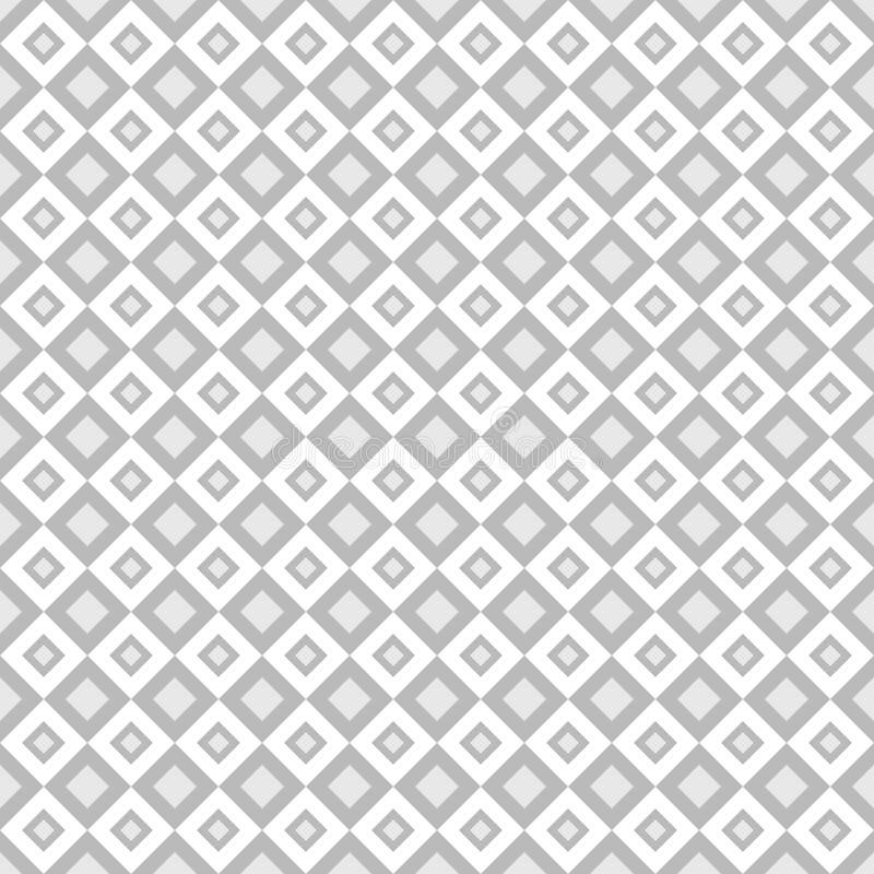 Teste padrão abstrato Fundo geométrico do vetor sem emenda ilustração do vetor