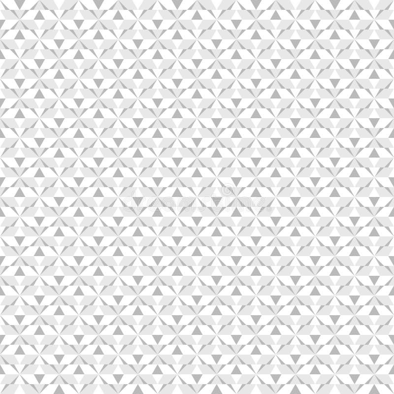 Teste padrão abstrato Fundo sem emenda do diamante do vetor ilustração stock
