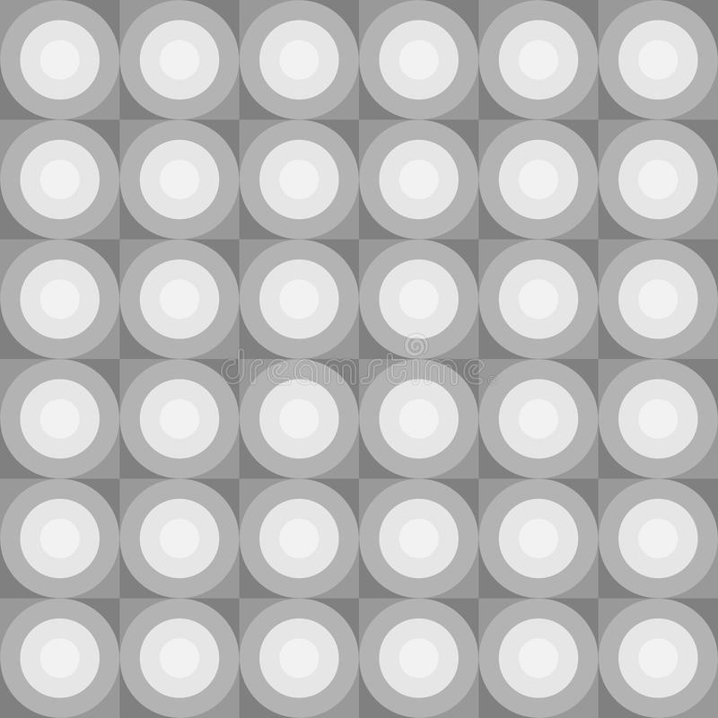 Teste padrão abstrato sem emenda ilustração stock